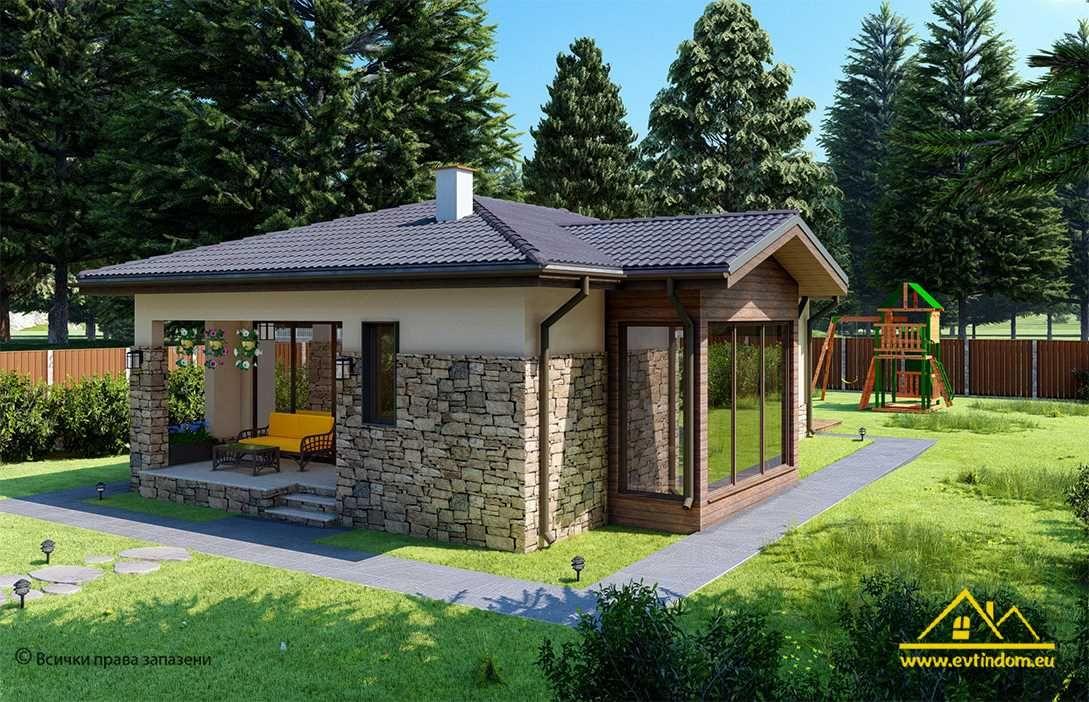 Продажба на къща с голям двор - с. Храбърско
